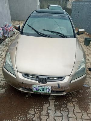 Honda Accord 2003 2.4 Automatic Gold | Cars for sale in Abuja (FCT) State, Gwarinpa