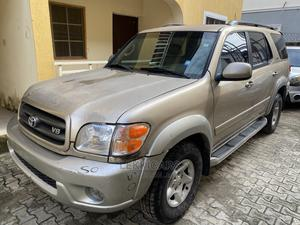 Toyota Sequoia 2002 Gold | Cars for sale in Lagos State, Ajah