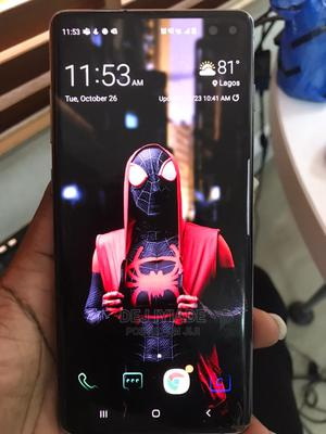Samsung Galaxy S10 Plus 128 GB White   Mobile Phones for sale in Lagos State, Surulere