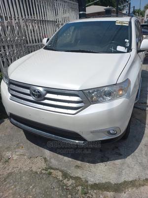 Toyota Highlander 2012 White | Cars for sale in Lagos State, Ilupeju