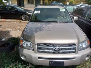 Toyota Highlander 2006 Hybrid Gold | Cars for sale in Lagos State, Amuwo-Odofin