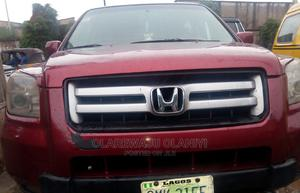 Honda Pilot 2006 Red   Cars for sale in Lagos State, Ogba