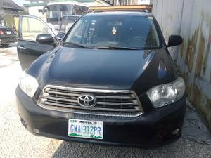 Toyota Highlander 2009 Sport Black | Cars for sale in Rivers State, Port-Harcourt