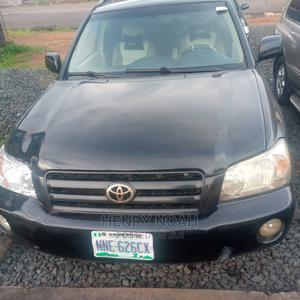 Toyota Highlander 2004 Limited V6 4x4 Black | Cars for sale in Enugu State, Enugu