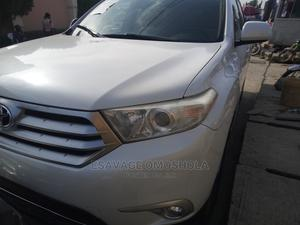 Toyota Highlander 2012 White | Cars for sale in Lagos State, Gbagada