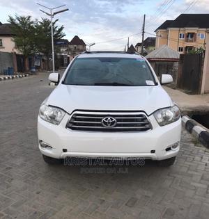Toyota Highlander 2008 Sport White | Cars for sale in Lagos State, Lekki
