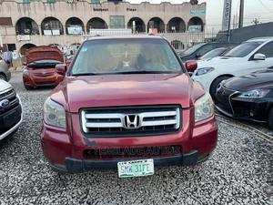 Honda Pilot 2006 Red   Cars for sale in Lagos State, Ikeja