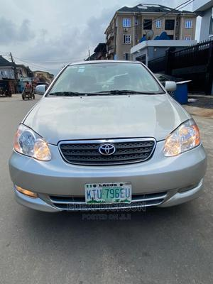 Toyota Corolla 2003 Sedan Automatic Gray   Cars for sale in Lagos State, Surulere