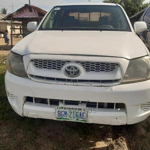 Toyota Hilux 2014 SR 4x4 White | Cars for sale in Lagos State, Ajah