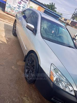 Honda Accord 2007 Sedan EX-L V-6 Automatic Silver | Cars for sale in Lagos State, Alimosho