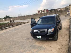 Honda Pilot 2007 EX-L 4x2 (3.5L 6cyl 5A) Black   Cars for sale in Lagos State, Ikeja
