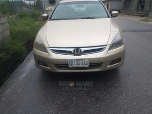 Honda Accord 2007 2.0 Comfort Automatic Gold | Cars for sale in Rivers State, Port-Harcourt