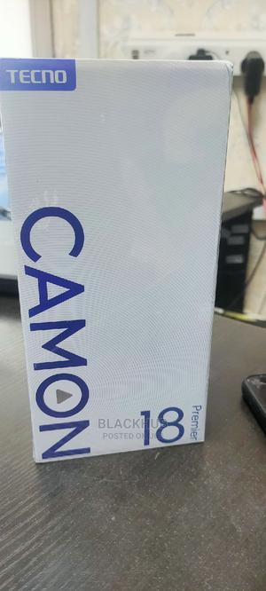 New Tecno Camon 16 Premier 128 GB Black | Mobile Phones for sale in Lagos State, Ikeja