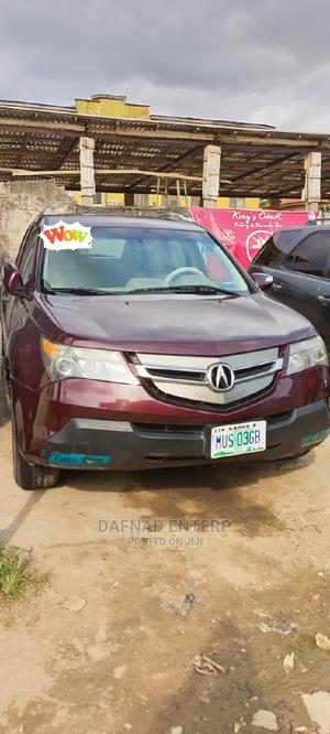 Acura MDX 2009 Red   Cars for sale in Lagos State, Ikotun/Igando