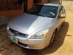 Honda Accord 2005 2.0 Comfort Automatic Silver | Cars for sale in Lagos State, Ikorodu