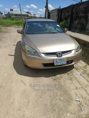 Honda Accord 2003 Automatic Gold | Cars for sale in Delta State, Warri