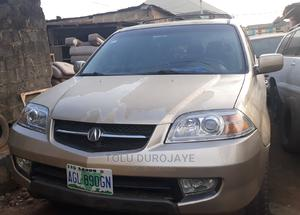 Acura MDX 2002 3.5L 4x4 Gold   Cars for sale in Lagos State, Ikotun/Igando