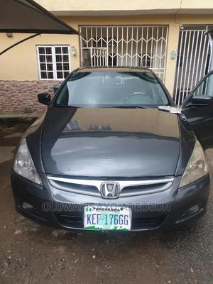 Honda Accord 2007 Sedan EX Gray   Cars for sale in Abuja (FCT) State, Wuse 2