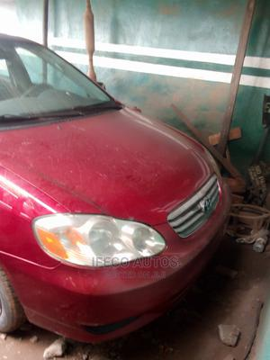 Toyota Corolla 2003 Sedan Automatic Red   Cars for sale in Lagos State, Ikeja