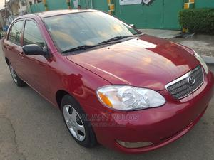 Toyota Corolla 2006 Red | Cars for sale in Lagos State, Ojodu