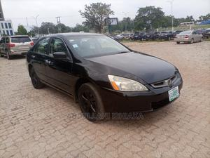 Honda Accord 2004 Automatic Black | Cars for sale in Abuja (FCT) State, Central Business District