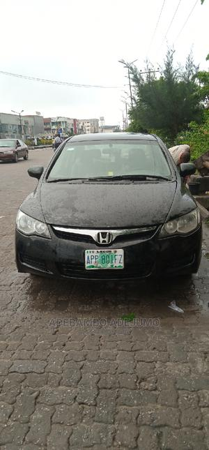 Honda Civic 2008 1.6i LS Automatic Black   Cars for sale in Lagos State, Lekki