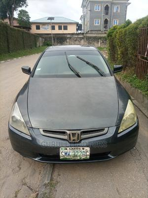 Honda Accord 2004 Sedan EX Gray | Cars for sale in Lagos State, Mushin