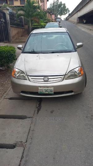 Honda Civic 2003 Coupe Automatic Silver   Cars for sale in Lagos State, Ikeja