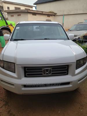 Honda Ridgeline 2008 White   Cars for sale in Lagos State, Alimosho