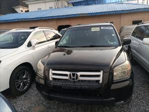 Honda Pilot 2007 EX 4x2 (3.5L 6cyl 5A) Black   Cars for sale in Lagos State, Isolo