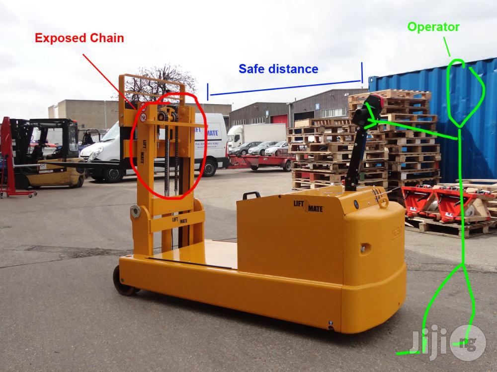 Liftmate Heavy Duty Fully Powered Counterbalanced Pallet Stacker