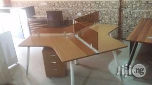 3man Workstation With Metal Legs | Furniture for sale in Lagos State, Lekki