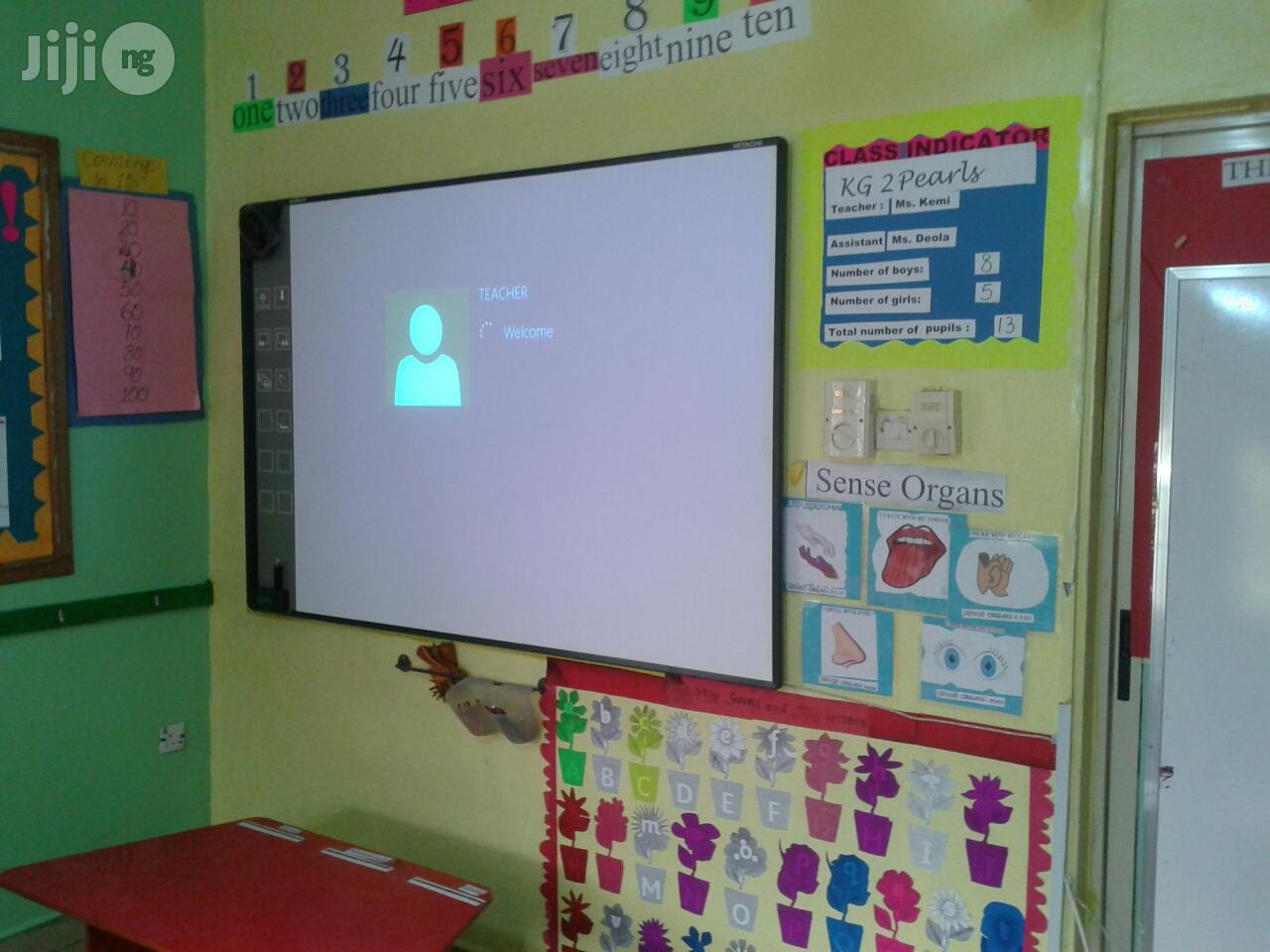 Archive: Hitachi Interactive White Board And Hitachi Projector