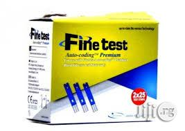Finetest Test Stripes For Glucometer | Medical Supplies & Equipment for sale in Lagos State, Mushin