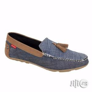 Slip on Loafers for Men Canvas Denim Loafer | Shoes for sale in Edo State, Benin City