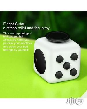 6-side Fidget Cube Dice Attention Focus Toy Anxiety Stress Relief | Toys for sale in Lagos State