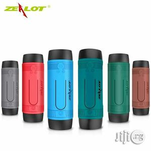 Zealot S1 Bluetooth Speaker, 4000mah Power Bank And LED Light | Audio & Music Equipment for sale in Lagos State, Apapa