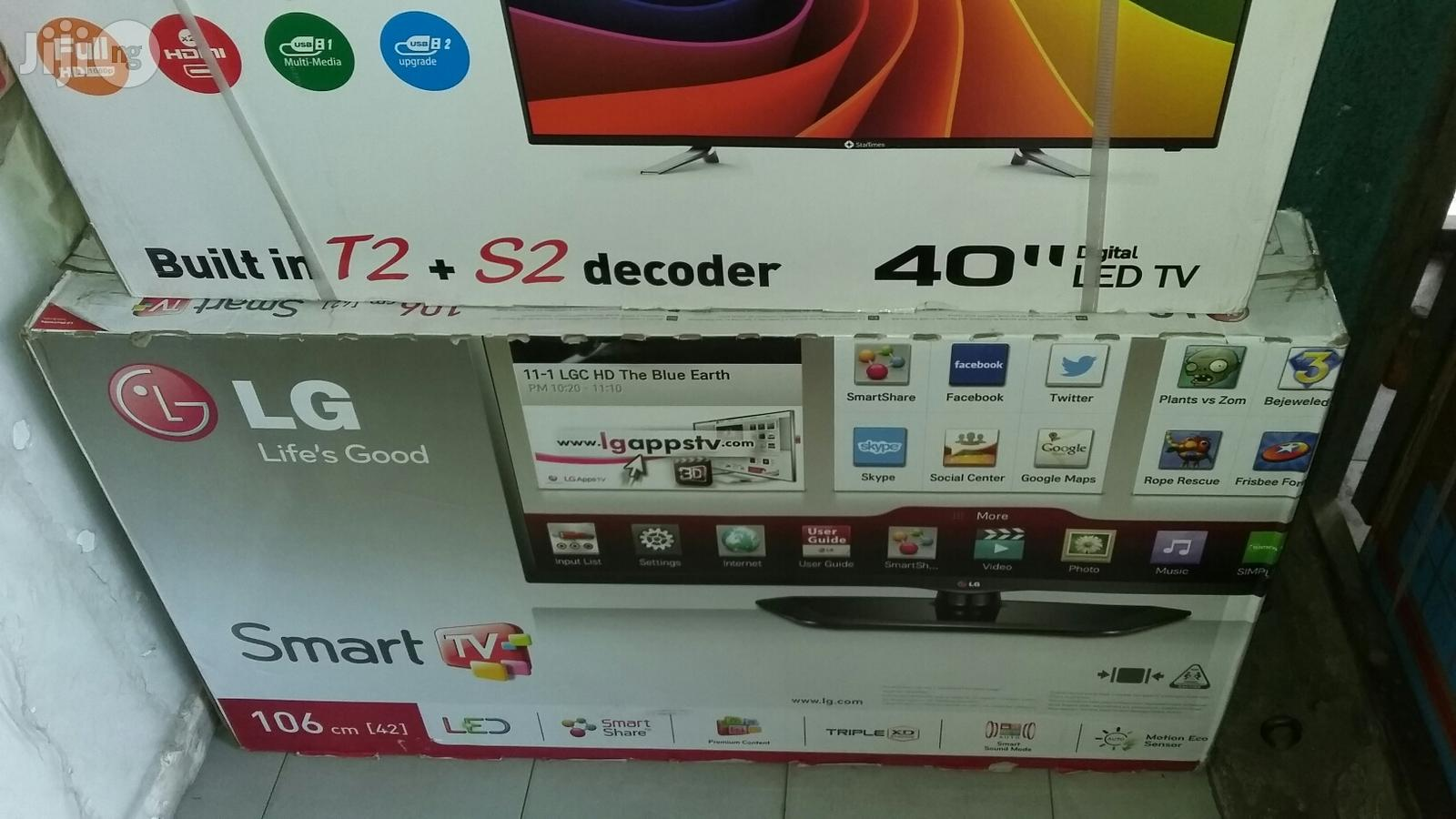LG Led Smart Tv With 2 Years Warranty And Safe Delivery 43 Inches