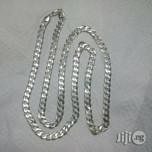 Original ITALY 925 Pure Silver Cuban Design Long Length | Jewelry for sale in Lagos State, Lagos Island (Eko)