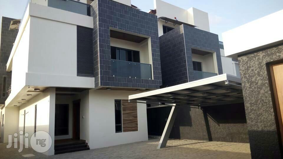 New 5 Bedroom Semi Detached Duplex + BQ At Lekki Phase 1 For Rent.