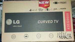Original LG Led Curve TV 43 Inches With 2years Warranty Sign | TV & DVD Equipment for sale in Lagos State, Ojo