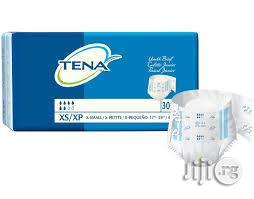 Tena Adult Diapers (X-small Size) By 30 Pieces | Baby & Child Care for sale in Lagos State