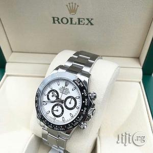 Rolex Daytona Silver Chain Watch | Watches for sale in Lagos State, Lagos Island (Eko)