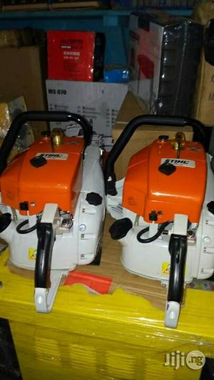 Steel Chain Saw Machine For Wood   Electrical Hand Tools for sale in Lagos State, Ojo