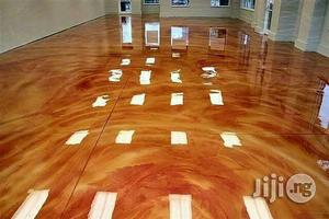 Peach Palace Epoxy Floors Panels, Wallpaper Glass Shower Cubicles   Building Materials for sale in Abuja (FCT) State, Lokogoma