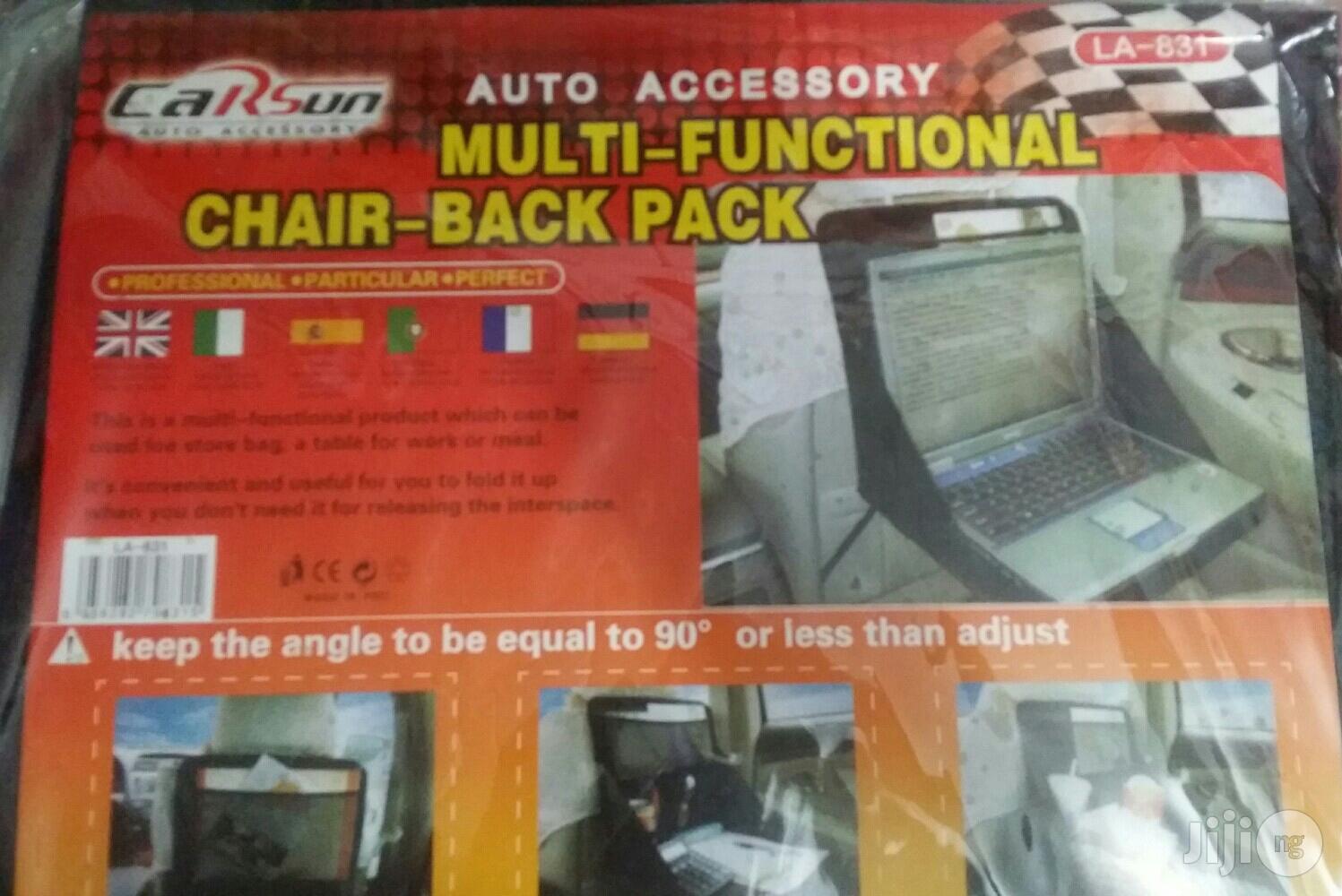 Multipurpose Laptop/Chair Back Pack
