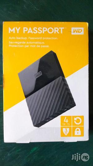 WD 4tb My Passport Heard Drive   Computer Hardware for sale in Lagos State, Ikeja