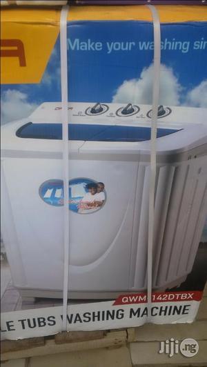 Qasa Washing Machine 8.2kg Double Tub. | Home Appliances for sale in Lagos State, Ojo