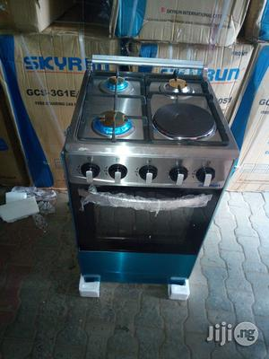 Skyrun Auto 4burners(3+1)Cooker Oven With 2yrs Wrnty. | Kitchen Appliances for sale in Lagos State, Ojo