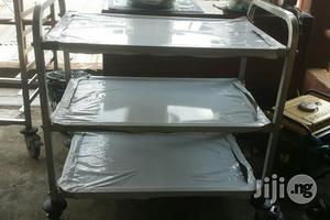 Multi-purpose Stainless Steel Trolley 3 Step | Store Equipment for sale in Lagos State, Lagos Island (Eko)